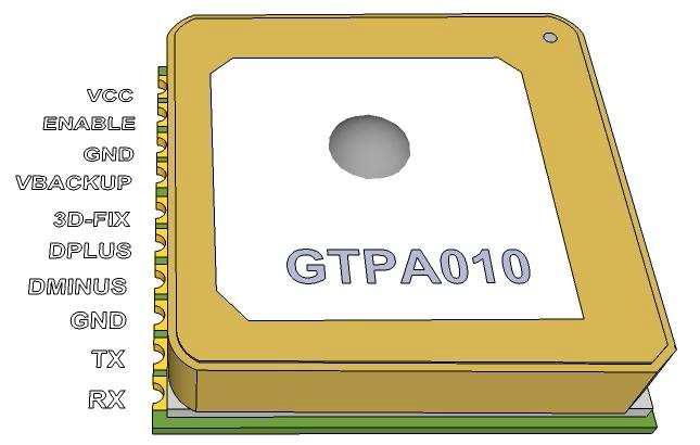 MT3329 GPS Modülü